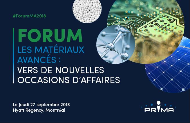 Forum - Les matériaux avancés